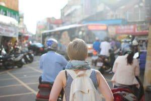 fille expatriée en Chine